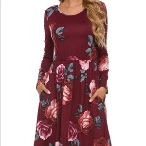 """Dresses & Skirts - The """" Marianne """" Dress 👗 in Red Rose 🌹"""